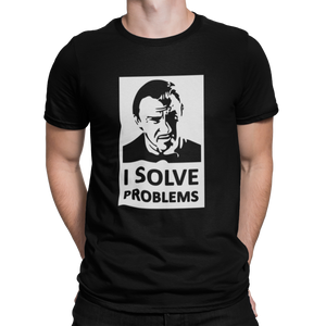 PULP FICTION - SR LOBO - I SOLVE PROBLEMS - CAMISETA - kxulo