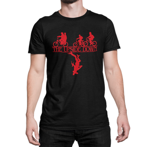 STRANGER THINGS - Upside Down Bicis - CAMISETA