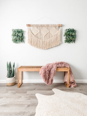 Bohemian Woven Wall Hanging / Extra Large Macrame Wall Decor / Boho Decor Macrame Wall Hanging