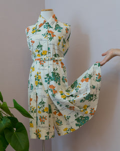 1970's Botanical Delight Romper