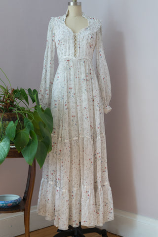 1970's Gunne Sax Dress Prarie Dress