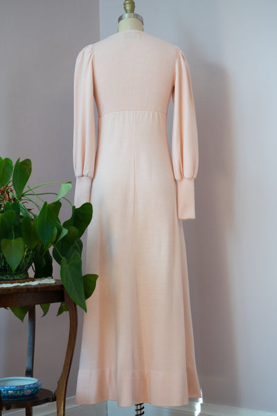 1970's Pink Sweater Dress by Hubba Hubba