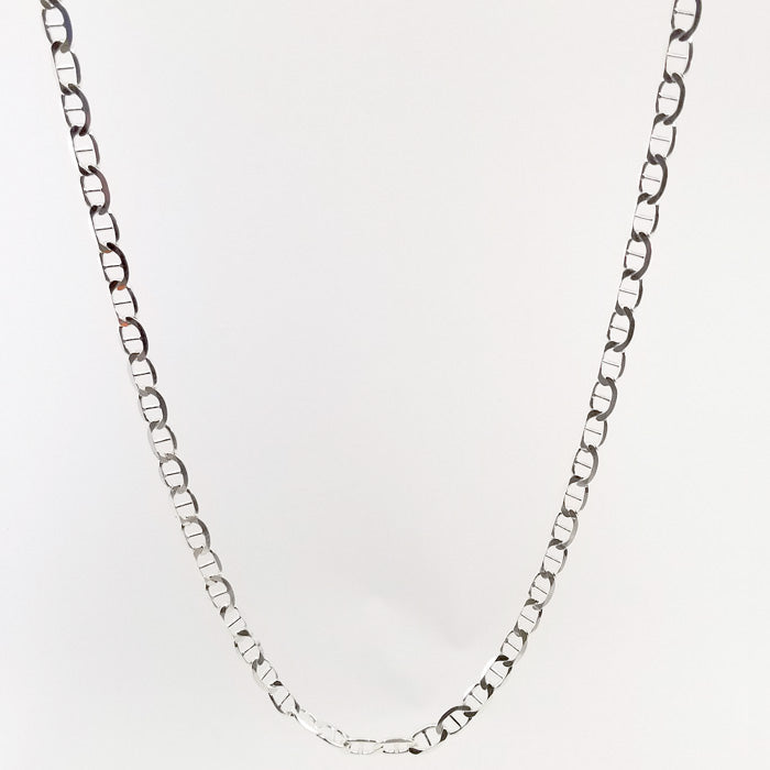 Sterling Silver Figaro Style Chain