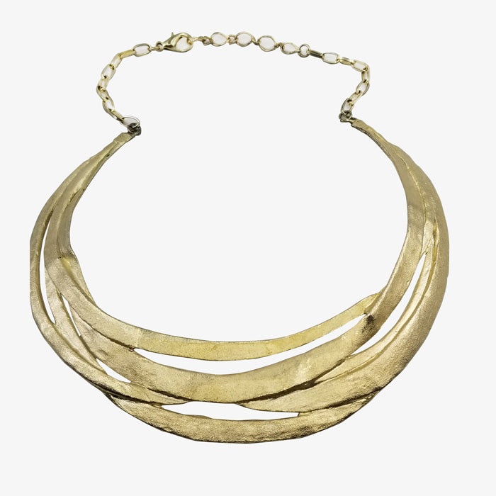 14K Gold over Bronze Necklace