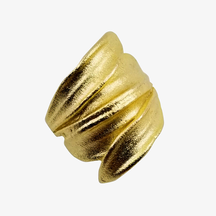 14K Gold Plated Bronze Ring
