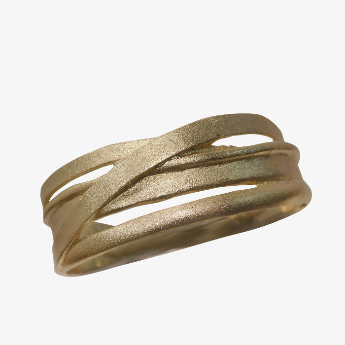 14K Gold over Bronze Greek Bracelet