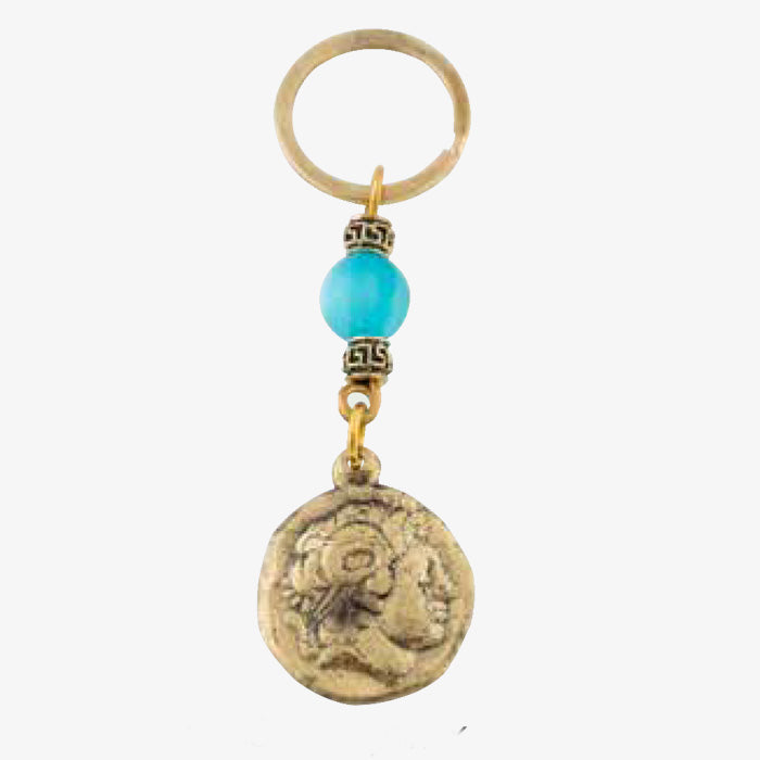 Bronze Key Chain - Alexander
