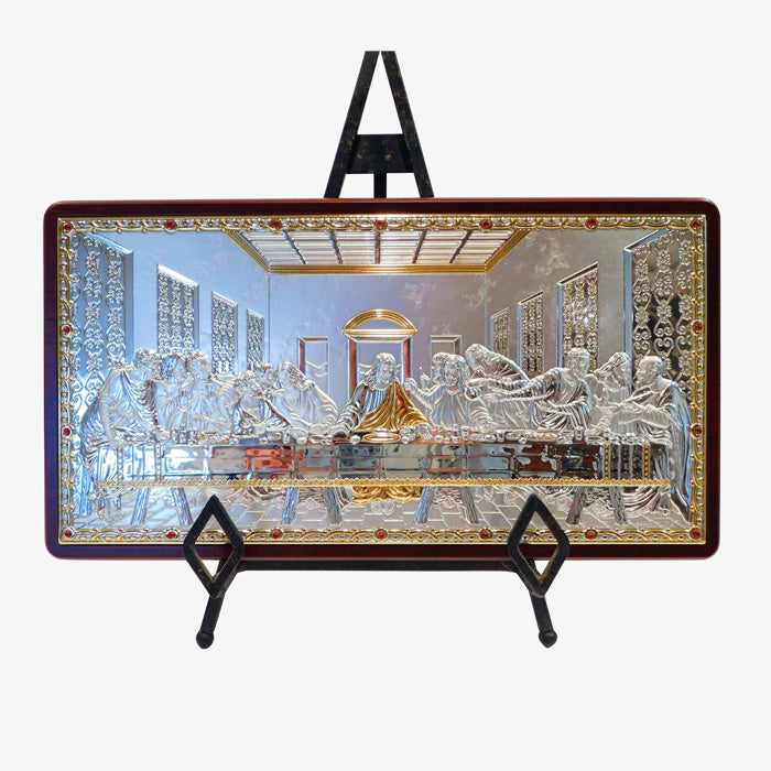 Sterling Silver Last Supper Icon