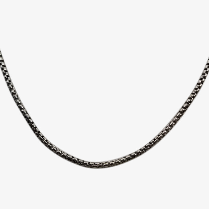 Sterling Silver Oxidized Chain
