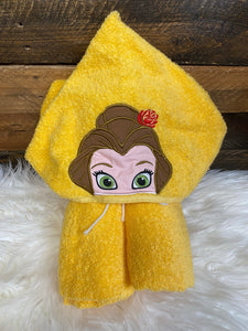 Belle hooded towel