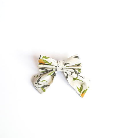 Orange Zest Sailor Bows