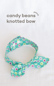 Candy Beans Knotted Bow