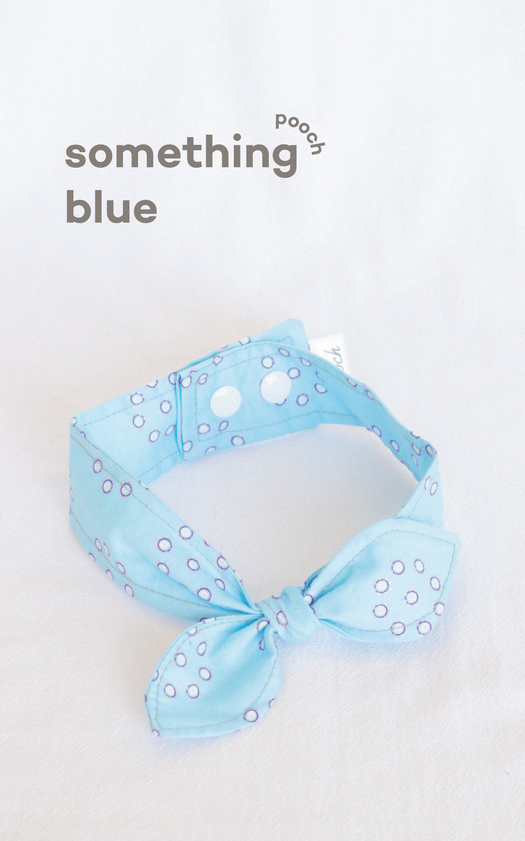 Something Blue Knotted Bow