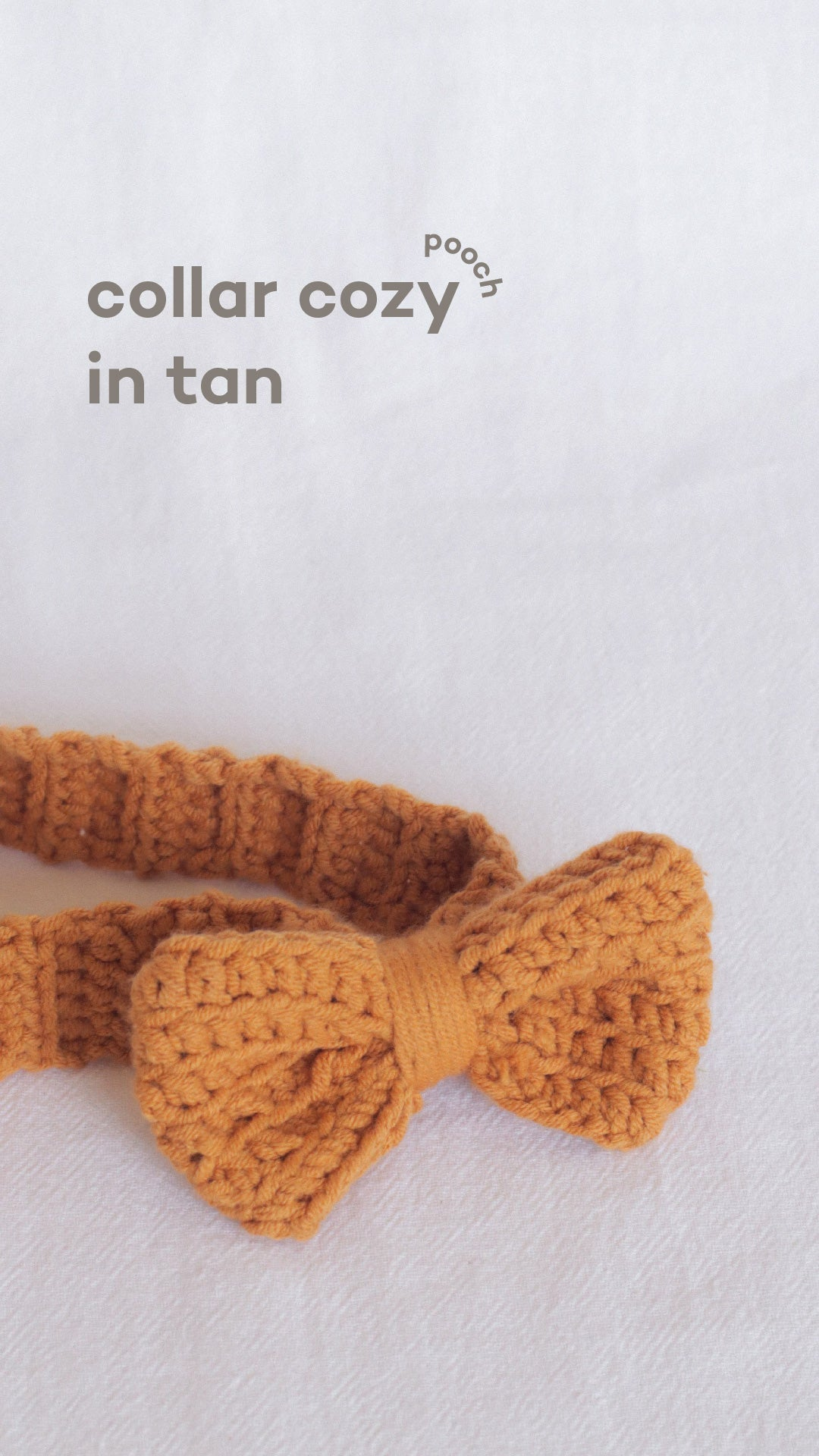 Collar Cozy in Tan