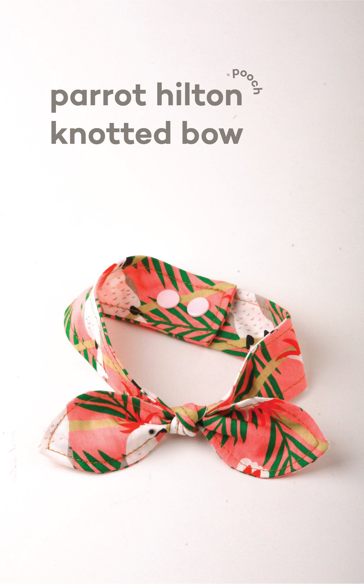 Parrot Hilton Knotted Bow