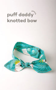 Puff Daddy Knotted Bow