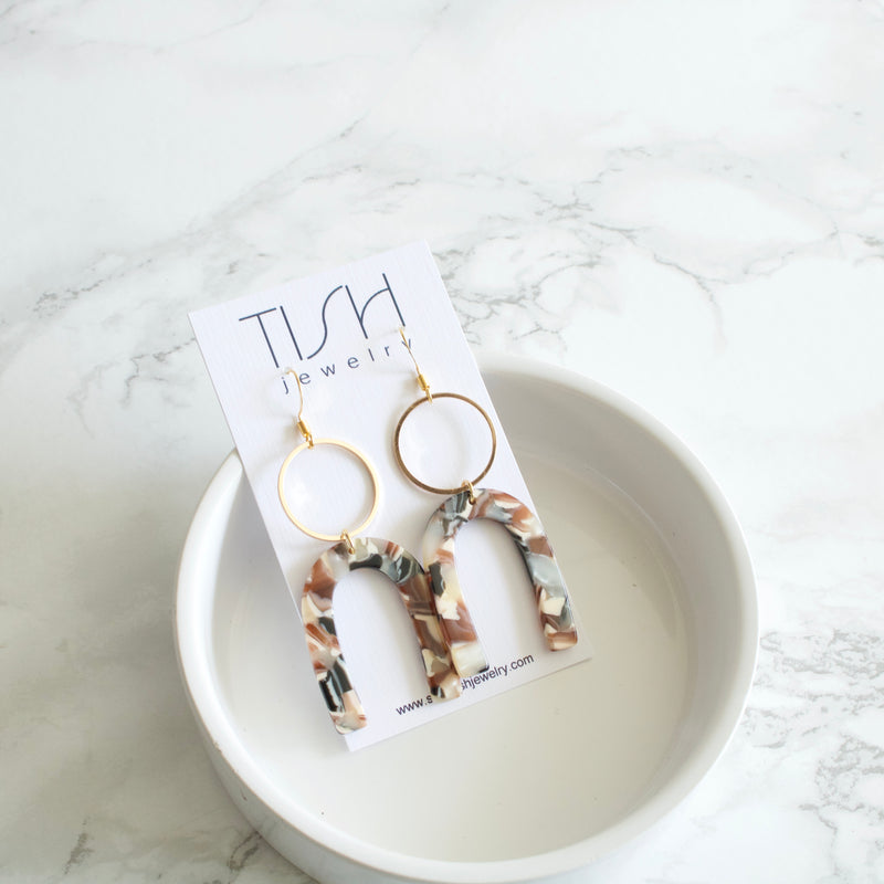 Eva Arch Earrings