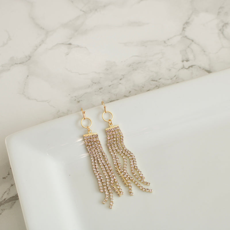 Shay Rhinestone Earrings