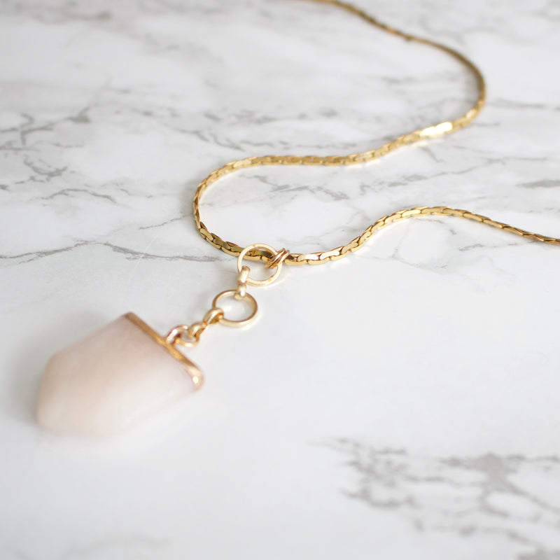 Pink Aventurine Necklace