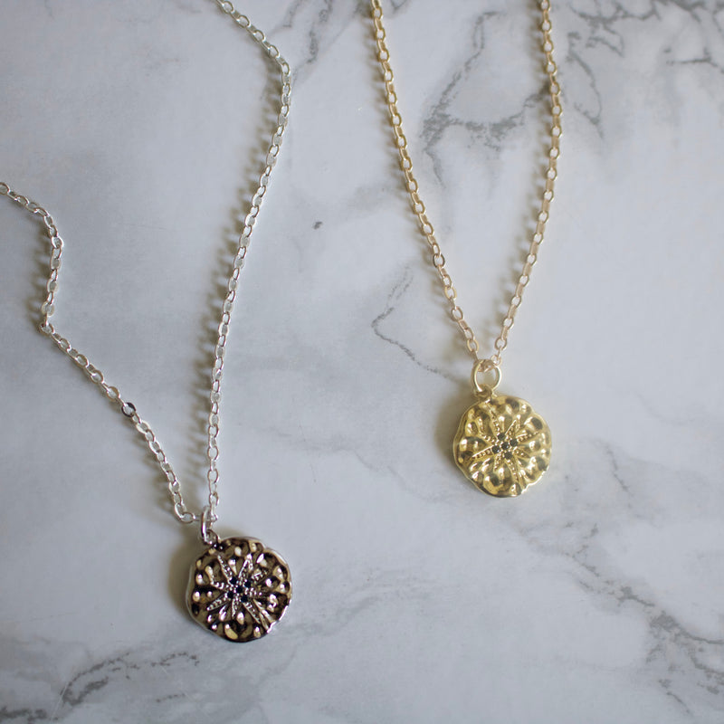 Medallion Layering Necklace