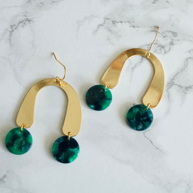 Freya Statement Arch Earrings