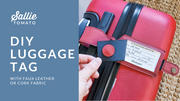Luggage Tag Instant Download