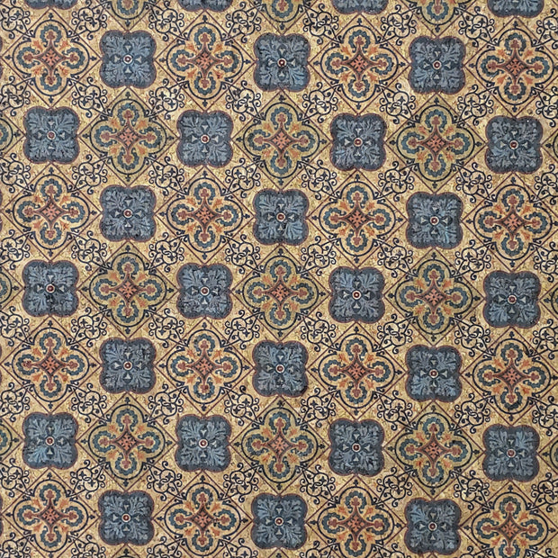 PRO Lite Talavera Tiles Cork Fabric By the Inch