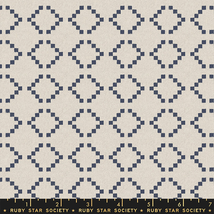 Ruby Star Society Warp Weft Wovens Navy