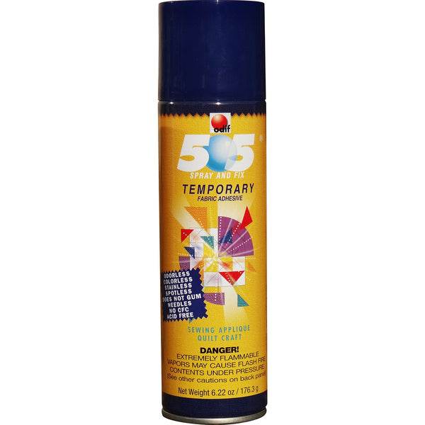 Odif 505 Spray & Fix Temporary Fabric Adhesive