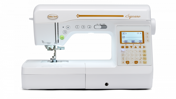 Baby Lock Quilting and Sewing Machine - Soprano