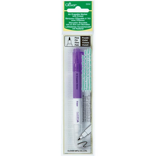 Clover Erasable Marker Purple