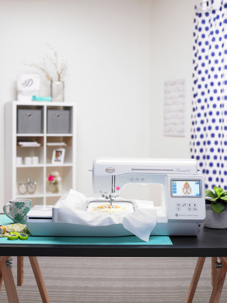 Baby Lock Embroidery Machine - Flourish II