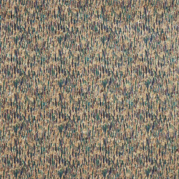 PRO Brush Strokes Cork Fabric By the Inch