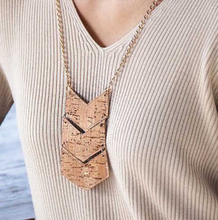Make-it Take-it Cork or Vinyl Necklace: Tuesday, June 23 2020