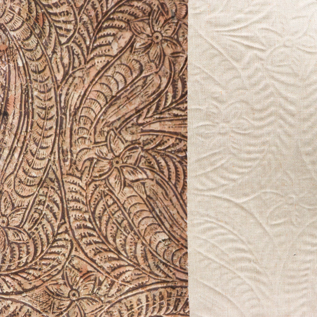 1/2 Yard Cut: PRO Embossed Paisley Cork Fabric