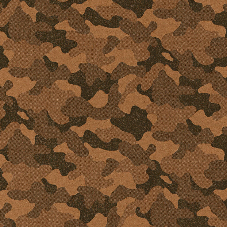 1/2 Yard Cut: PRO Lite His Camo Cork Fabric