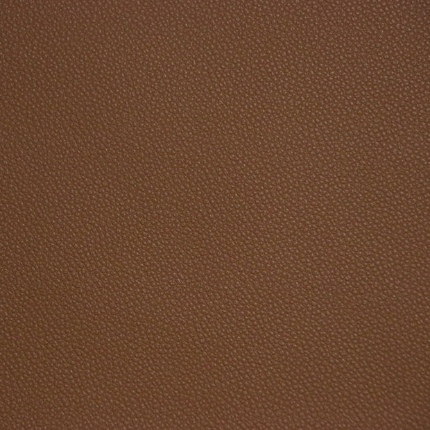 1/2 Yard Brown Pebble Faux Leather