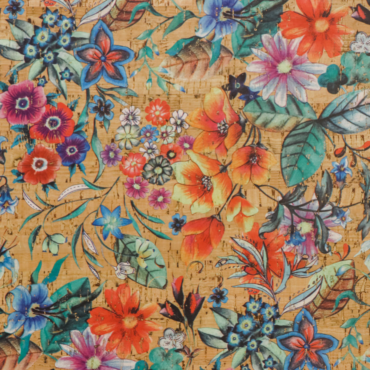 1/2 Yard Cut: PRO Garden Party Cork Fabric