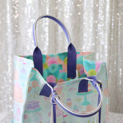 Brown #5 Nylon Coil Zippers: 3 Yards with 9 Pulls
