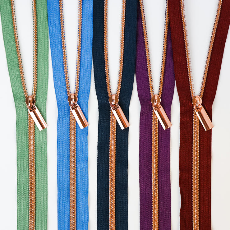SewPINK Variety Pack Colorful Zippers Nylon Coil