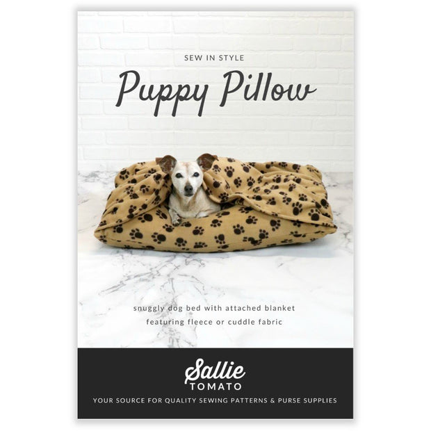 Puppy Pillow Instant Download