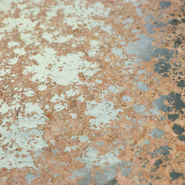 PRO Natural Silver Splatter Cork Fabric By the Inch