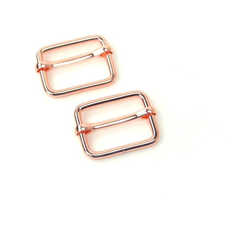 Two Slider Buckles 1""