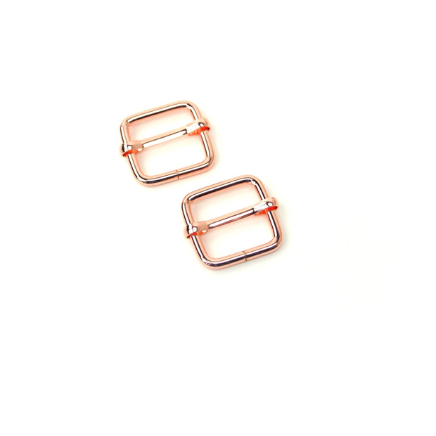 Two Slider Buckles 3/4""