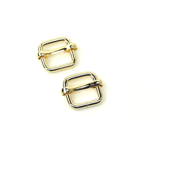 Two Slider Buckles 1/2""