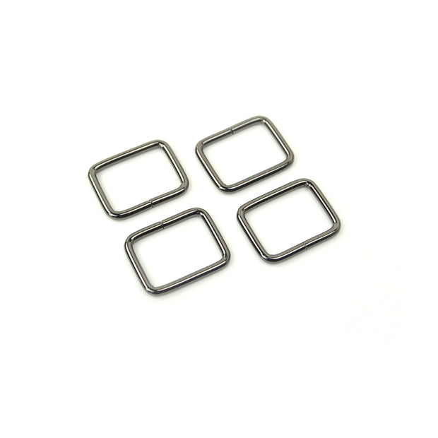Four Rectangle Rings 1""