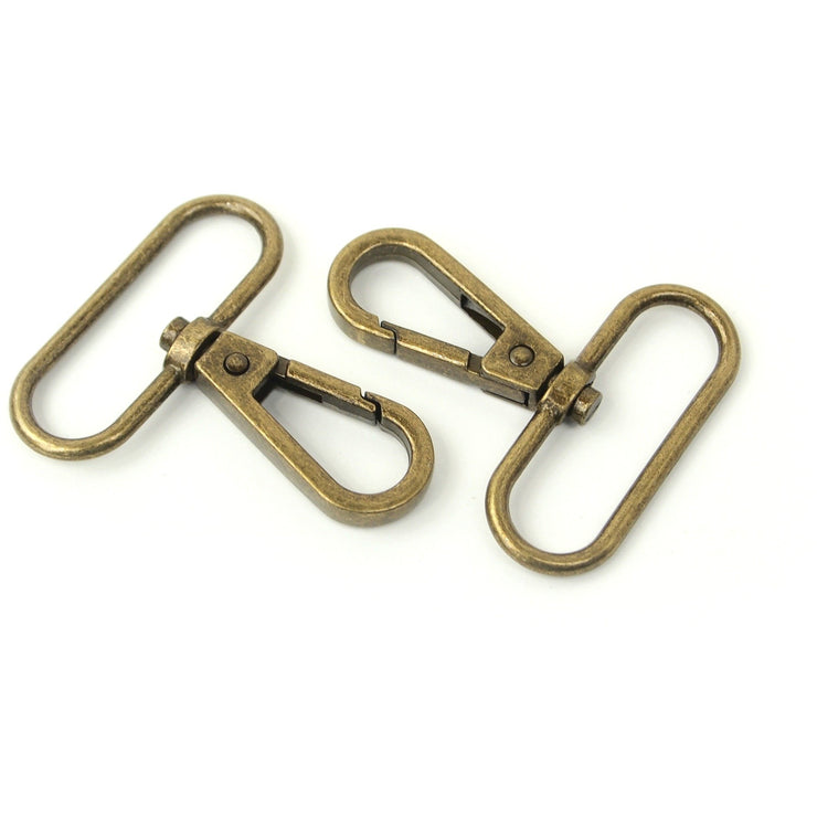 Two Swivel Hooks 1 1/2""