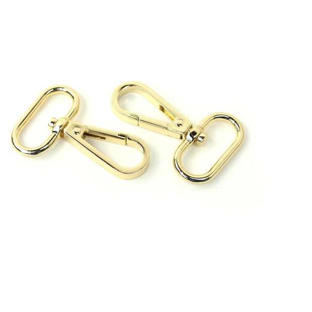 Two Swivel Hooks 1""