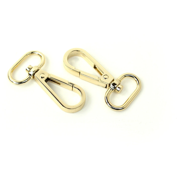 Two Swivel Hooks 3/4""