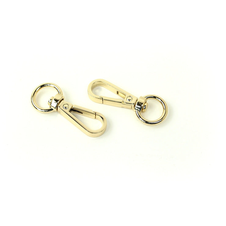 Two Swivel Hooks 1/2""